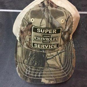 Chevrolet Super Service Realltree Camo Hat Cap